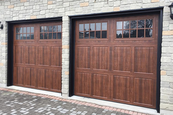 PK Garage Doors Before and After
